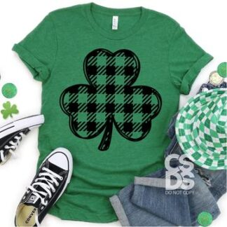 plaid clover