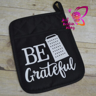 be grateful potholder