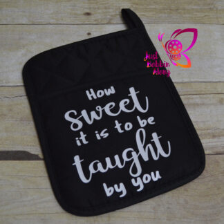 teacher potholder